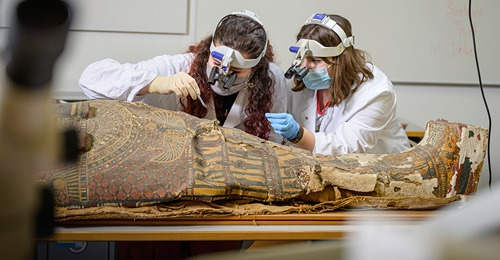 New life for an egyptian mummy in Switzerland