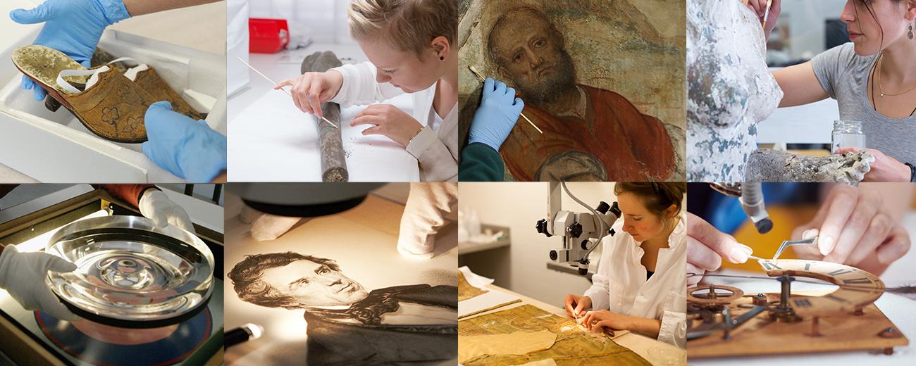 Swiss Conservation-Restoration Campus, Studies, Specialisations